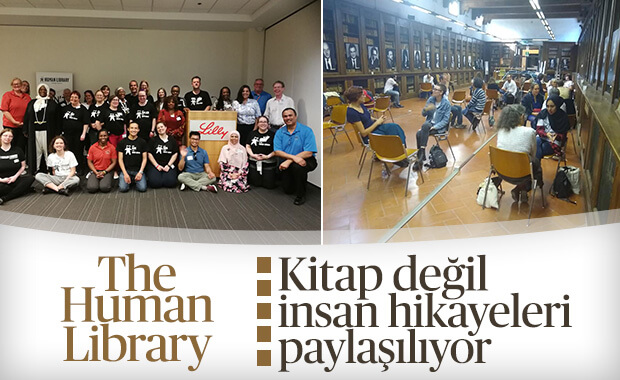 Materyali kitap değil insan olan kütüphaneler: The Human Library