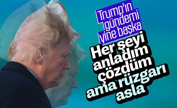 Trump'ın derdi: Rüzgar