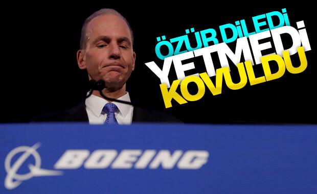 Boeing, David Calhoun'u yeni CEO olarak atadı