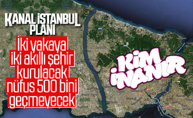 Bakan Kurum: Kanal İstanbul'un nüfusu 500 bini geçmeyecek