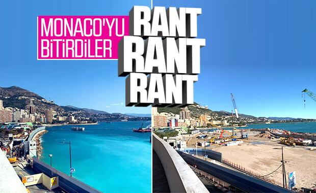 Monaco'da deniz dolduruldu