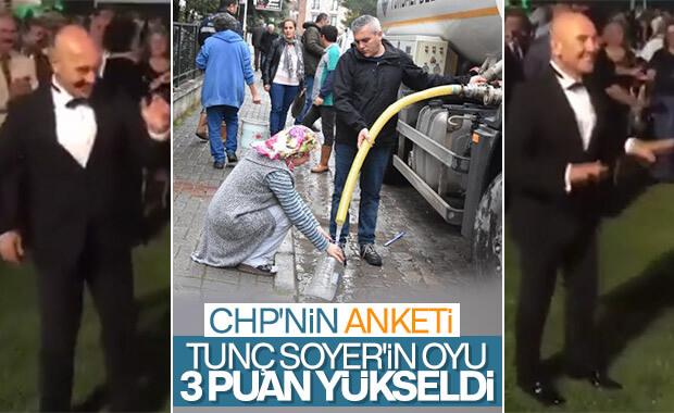 CHP'nin anketine göre Tunç Soyer'in oyları arttı