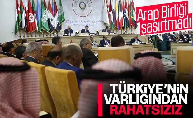 Arap Birliği: Türkiye'den rahatsızız