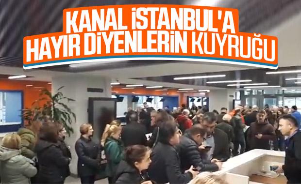 Kanal İstanbul'a itiraz kampanyası başlattılar