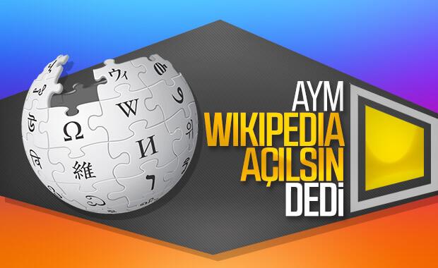 Wikipedia'nın engellenmesi hak ihlali sayıldı