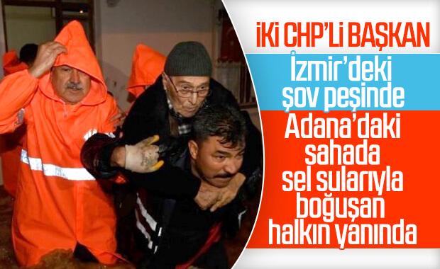 Adana'da sel felaketi