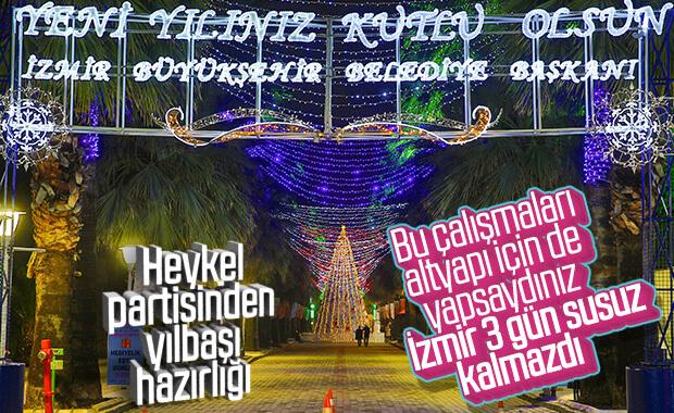 İzmir'de cadde ve sokaklar 2020'ye için hazırlandı
