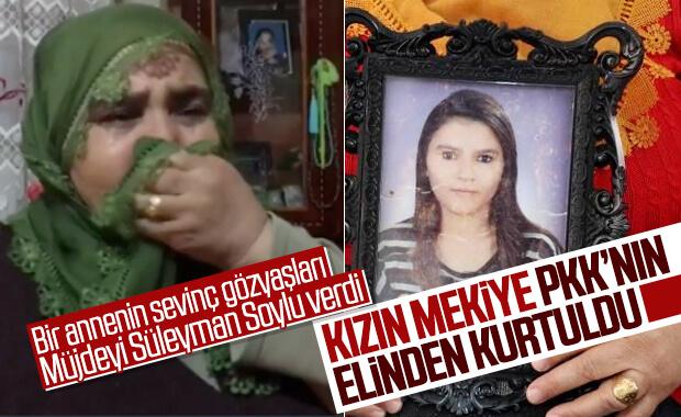 Annesi HDP önünde eylem yapan genç kız, PKK'dan kaçtı