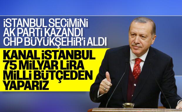 Erdoğan'dan Kanal İstanbul projesinde kararlılık mesajı