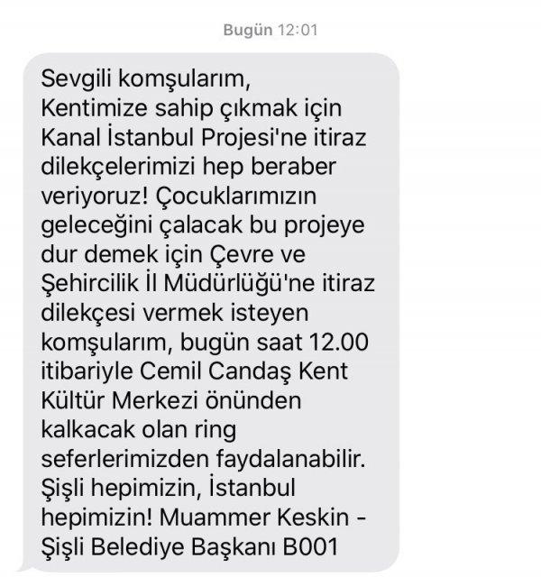 Kanal İstanbul'a itiraz kuyruğu