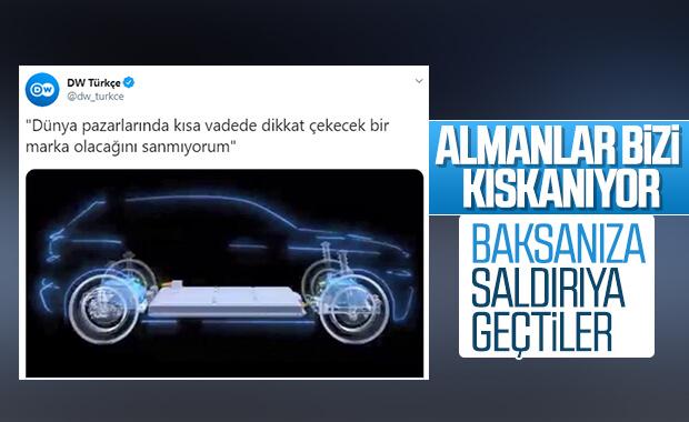 Almanların hedefinde Türkiye'nin yerli otomobili var