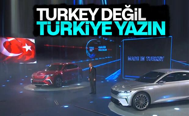 Cumhurbaşkanı Erdoğan: Made in Türkiye