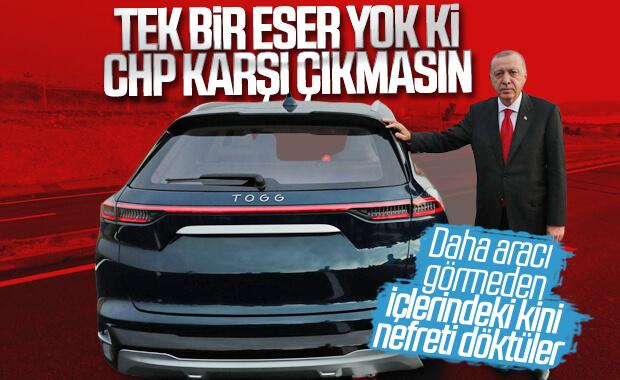 Erdoğan'dan yerli otomobile kulp takanlara eleştiri