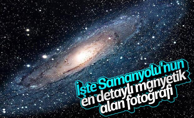 Samanyolu Galaksisi'nin en detaylı manyetik alan fotoğrafı