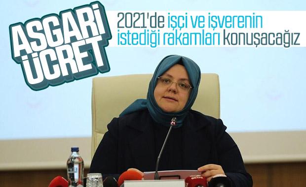 Bakan'dan 2021 asgari ücret açıklaması