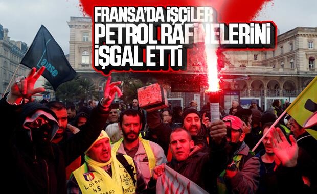 Fransa'da ülke genelinde grevler büyüyor