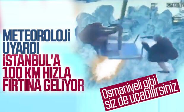 İstanbul için turuncu kodlu uyarı