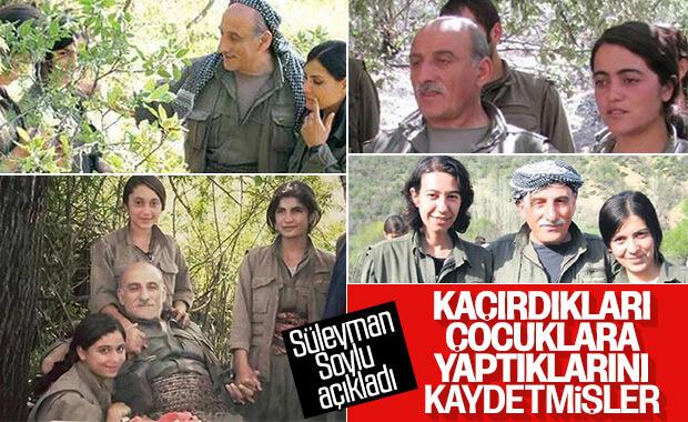 Süleyman Soylu: PKK, çocuklara yaptıklarını videoya almış