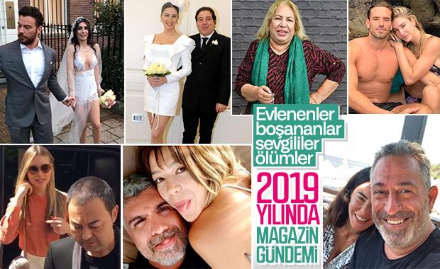 2019 yılına damga vuran magazin olayları