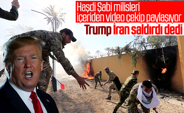 Donald Trump: Irak'taki saldırıyı İran yaptı