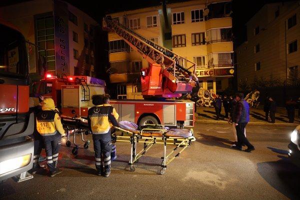 Ankara'da yangın: 4 ölü