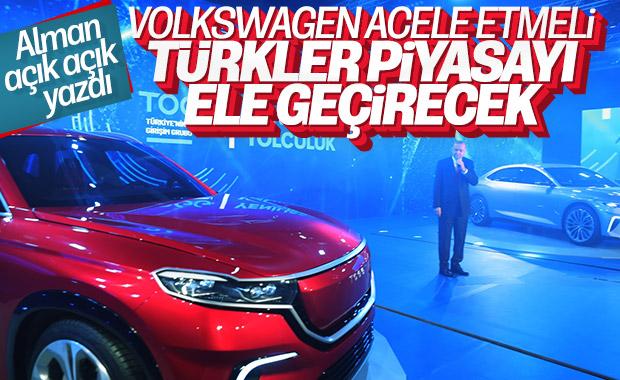 Türkiye'nin yerli otomobili Alman basınında