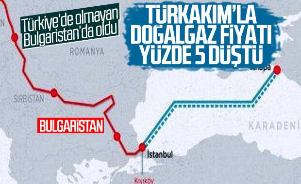Bulgaristan'da doğalgaza yüzde 5 indirim