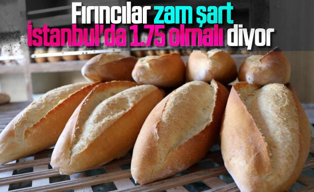 Fırıncılar ekmeğe zam yapmayı planlıyor