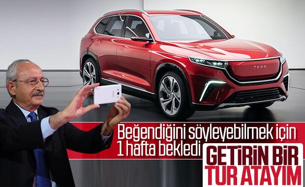 Kılıçdaroğlu yerli otomobile binmek istiyor