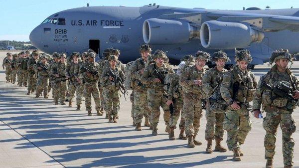 ABD Orta Doğu'ya 3 bin 500 asker gönderiyor