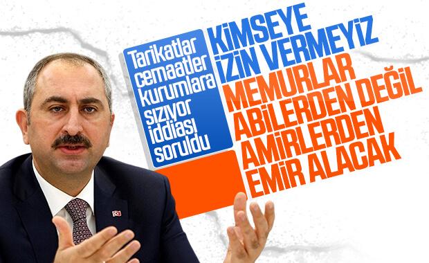 Tarikatlar kurumlara sızıyor iddiası Bakan Gül'e soruldu