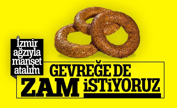 İzmir'de 'gevreğe zam yapın' talebi