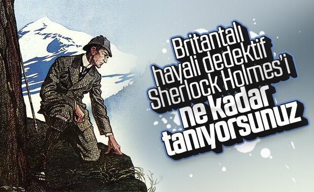 Ünlü dedektif Sherlock Holmes üzerine