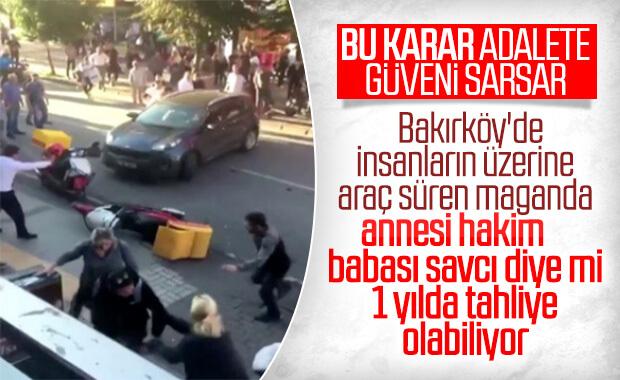 Bakırköy saldırganı tahliye oldu