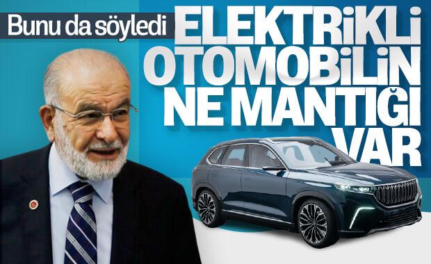 Karamollaoğlu'na göre elektrikli otomobil mantıksız