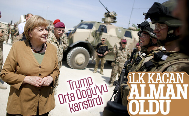 Alman askerleri Irak'tan çekiliyor
