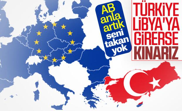 AB'den Türkiye'ye, Libya kınaması