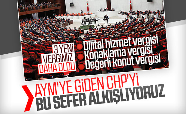 CHP'den AYM'ye vergi itirazı başvurusu