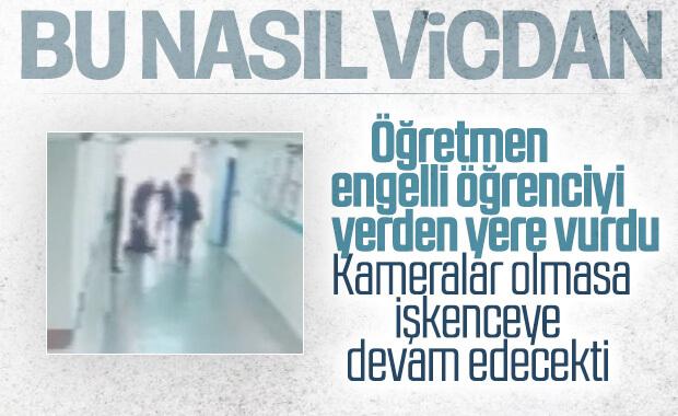 Eskişehir'de öğretmen kaynaştırma öğrencisini darbetti