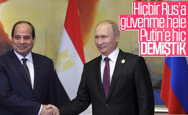 Putin ile Sisi'den nükleer silah anlaşması
