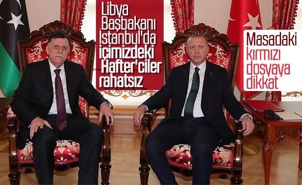 Libya Başbakanı Serrac İstanbul'da