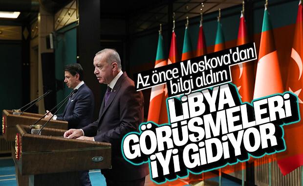 Erdoğan ve İtalya Başbakanı Libya'yı görüştü