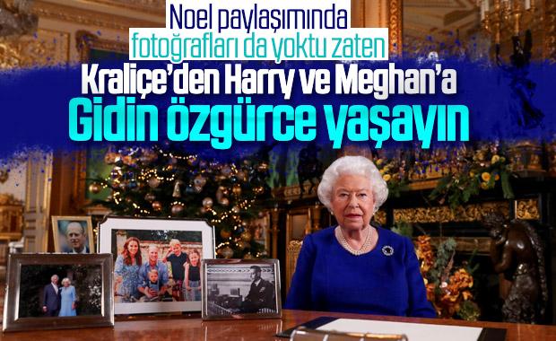 Kraliçe 2. Elizabeth: Harry ile Meghan'ı destekliyoruz
