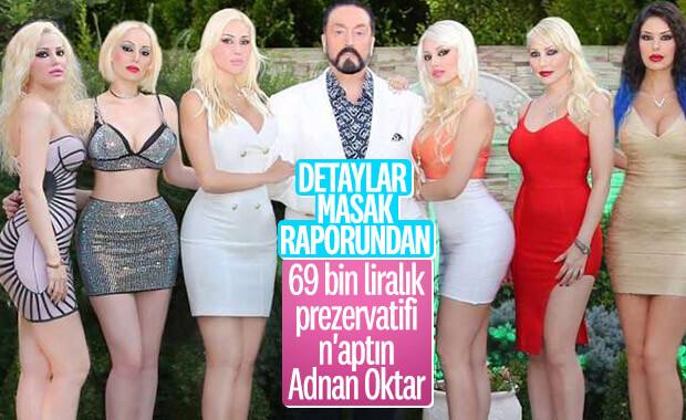 Adnan Oktar'ın aslancığından 69 bin liralık prezervatif