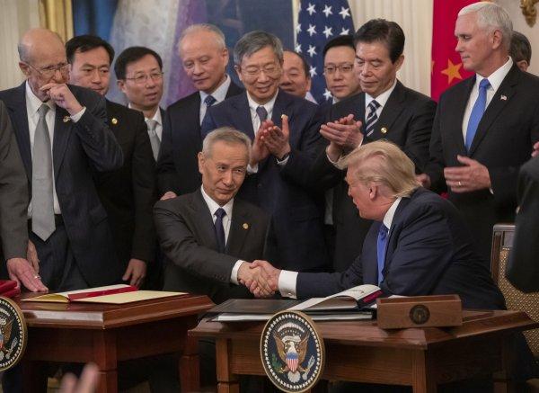 ABD ve Çin ticaret anlaşmasında ilk aşama imzaladı