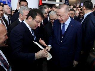 İmamoğlu'nun Erdoğan'a verdiği zarf #1