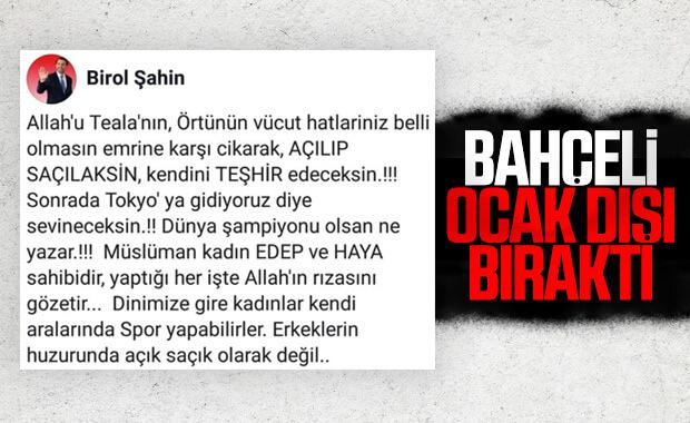 MHP, kadın voleybolcu paylaşımının cezasını kesti