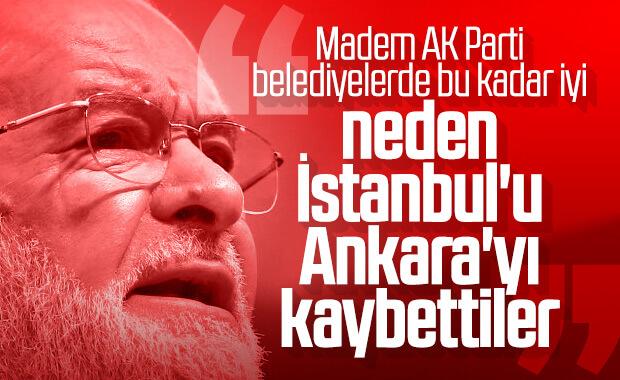 Karamollaoğlu, AK Parti belediyeciliğini eleştirdi