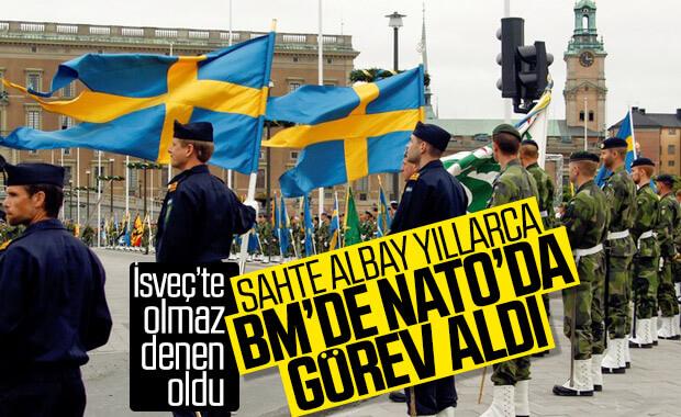 İsveç ordusunda 20 yıl görev yapan sahte albay