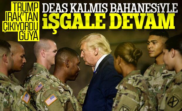 ABD'nin Irak'taki askerleri operasyona devam ediyor